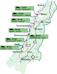 kystriksveien nordland kart Backpacker Kystriksveien kystriksveien nordland kart